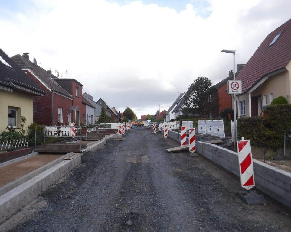Alexanderstraße in Coesfeld