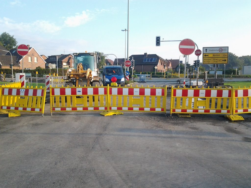 Dännendiek / Südstraße in Rhede
